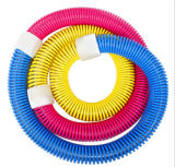 Stainless Steel Spring Exerciser PVC Massage Hula Hoops