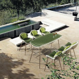Leisure Outdoor Garden Furniture Rattan Bar Stool Withtable by 6person Set (YT896-2)
