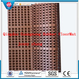Anti-Fatigue Interlocking Porous Kitchen Hotel Rubber Floor Mat