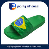 Custom Fashion EVA Rubber Men Brazil Slipper