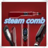 Automatic Steam Hair Straightener Comb Electric Iron Ceramic Straightening Brush
