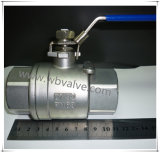 Precision Casting 3 Inch Stainless Steel Ball Valve Manufacturer