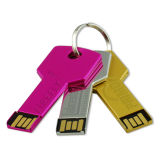 CE / RoHS OEM Key USB Flash Drive for Promotion