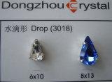 Teardrop Crystal Fancy Stones with Claw Settings