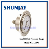 All Stainless Steel Solid Front Pressure Gauge