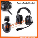 Carbon Fiber Racing Radio Headset for 2 Way Radios