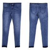 Women Denim Straight Ripped Jean Pants Trousers Skinny Jeans