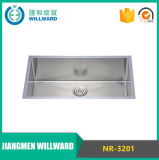 Handmade Nr-3201 Stainless Steel Single Bowl Sink