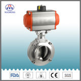 Stainless Steel Pneumatic Butterfly Valve
