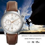 Men′s Sports Watch, Leather Strap Chronograph Watches Auto Date Man Watch72074