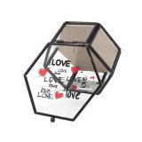 Black Exquisite Handmde Glass Box Jewelry Storage Case Jb-1079