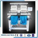 Two Head 15 Color Cap Embroidery Machine/ Towel Tubular Embroidery Machine with Dahao Control System