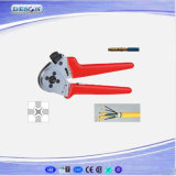 Four-Mandrel Crimping Pliers for Turned Contacts