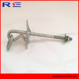 Galvanized Oval Eye Bolt W/Link for Fittings