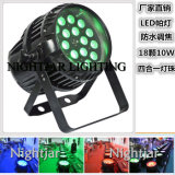 18*10W LED Zoom Waterproof PAR Light Stage Lighting