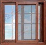Energy-Saving Woodgrain UPVC/PVC Sliding Window (BHP-SW05)