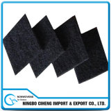 10mm Thick Black Viscose Nonwoven Activated Carbon Needle Felt