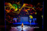 Hologram Mesh Screen 3D Holographic Stage Projection System for Fashion Show