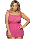 2017 New Arrivals Sexy Plus Size Babydoll