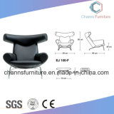 Black Color Artificial Leather Comfortable Leisure Sofa Chair