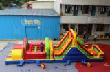 Exciting Amusement Games Inflatable Obstacle Interactive Game