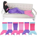 Home Textiles Knitting Adult Mermaid Fleece Blanket