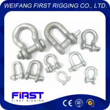 U. S. Type Drop Forged Alloy Steel G209/ G210/ G2130/ 2150 Hardware Shackle