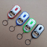 2 in 1 Multifunctional Beer Opener LED Key Lighting Locator Chain Keychain Light Flashlight Acrylic Bottle Opener Light