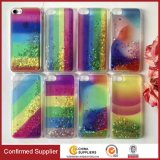The New Star Glitter Rainbow TPU Liquid Quicksand Phone Case