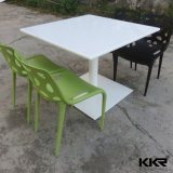 Solid Surface 700mm Restaurant Square Dinner Tables