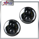 7 Inch Round LED Jeep Headlights with DRL Hi/Lo Beam