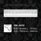 New-Style PU Cornice Moulding for Home Decoration Hn-8012