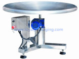 Automatic Rotary Turn Table for Collection of Pouches