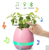 2017 New Bluetooth Smart Music Flower Pot with LED Light