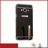 for Samsung Galaxy J7 Metal Frame Bumper PC Back Cover Case