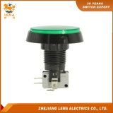 IP40 Protection Degree Green LED Push Button Switch Pbs-005