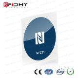 NFC Sticker, 30 mm, Ntag 213, 180 Byte, Blue