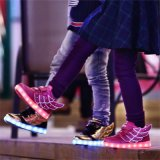 Wings of Light Shoes USB Shoes Children Shoes Winter Boys Charging Lamp Luminous Shoes LED with Light Shoes