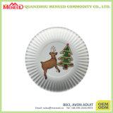 Eco-Friendly Reusable Paper Like Melamine Plastic Dinner Plate