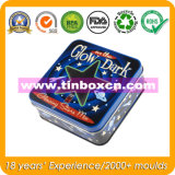 Square Tin Box, Tin Can Packaging, Gift Metal Container