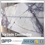 M289 Icy Jade Purple Marble Countertop for Bathroom Receptionist Bench