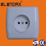 Wenzhou Factory Electrica EU Flush Mounted Wall Socket Outlet (F3009)
