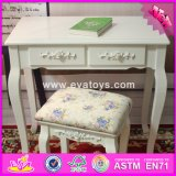 2017 Wholesale High Quality Wooden Bedroom Table and Chair Set, New Design Wooden Bedroom Table and Chair Set W08g189