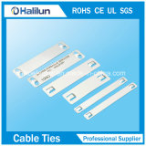 Stainless Steel Cable Marker Plate with Self-Lock Cable Tie