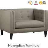 High Quality Furniture for Living Room Leather Tufted Armchair Sofa (HD523)
