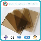 8mm Euro Bronze Tinted Float Glass Temperable