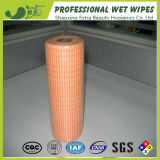 Printed Nonwoven Disposable Dry Wipes for Household Cleaning