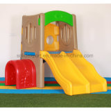 China Manufacturer Direct Selling Adorable Double Playground Slide Tunnel