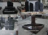 Cheap Good Quality Grey Granite G654 Gravestone in European Model