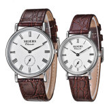 2017 Top 316L Stainless Steel Genuine Leather Timepiece Men Watch